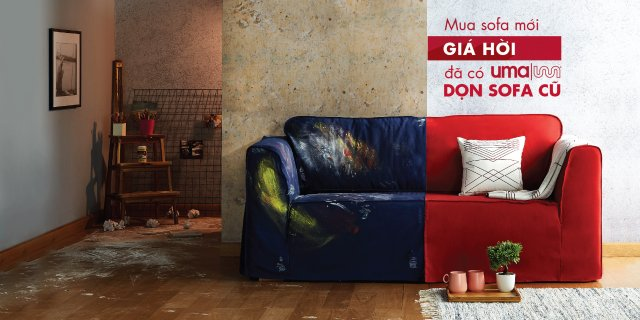 Uma Give Away Your Old Sofa For A
