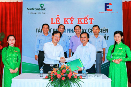 Vietcombank loan to fund building of cassava processing plant