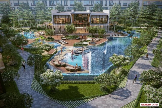 Five-star amenities at Diamond Brilliant  (Photo: Gamuda Land)