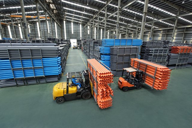 Hoa Sen's plastic pipe sales reached 5,000 tons in November, 2018 (Photo: Hoa Sen Group)
