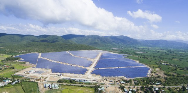 TTC Krong Pa solar power plant. (Photo: TTC Group)