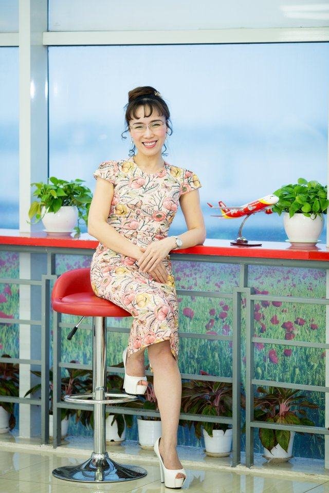 Ms. Nguyen Thi Phuong Thao, President and CEO of Vietjet Air