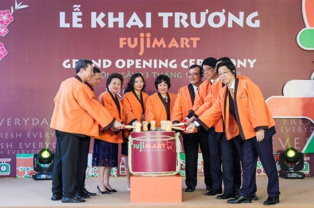 FujiMart opening ceremony