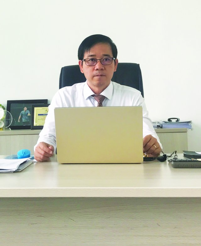 Mr. Nguyen Tran Dinh Khoi, Chief Executive Officer / General Director