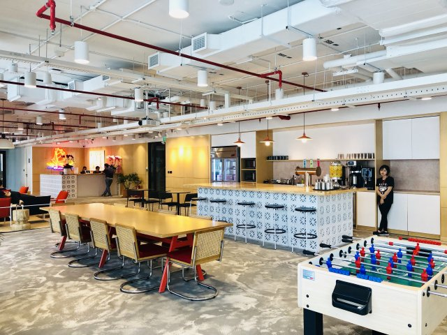 WeWork E-Town Central HCMC. (Photo: Hung Cao)