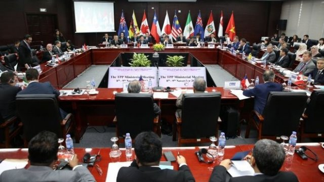 A meeting on CPTPP in Vietnam's Central city of Da Nang in November last year (Photo: apec.vn)