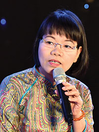 Ms. Nguyen Thi Thanh Huyen,  CEO of the Garment 10 Corporation JSC