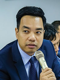 Mr. Mac Quoc Anh,  Vice President and Secretary General of the Hanoi Small and Medium Enterprises Association
