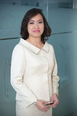 Ms. Tieu Yen Trinh, CEO of the Talentnet Corporation