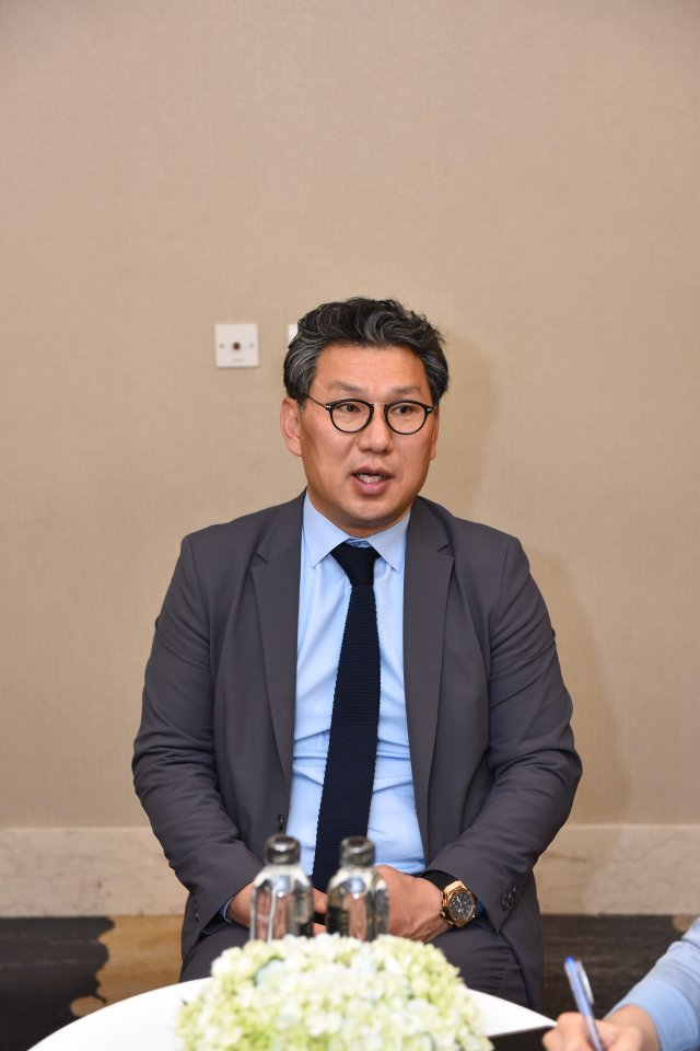 Mr. Kim Jin Man, President of Internet Infra Group under KISA
