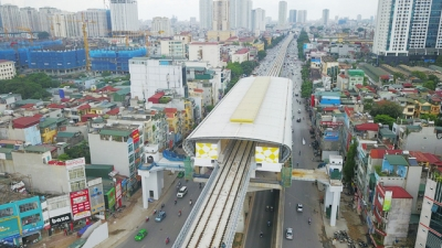 Three foreign firms to invest in Hanoi's urban railway network