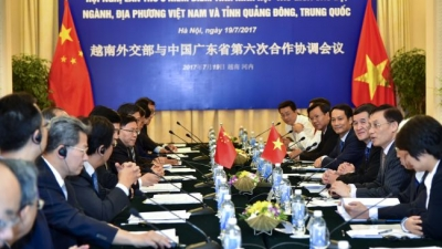 Vietnam pledges stronger cooperation with China's Guangdong province
