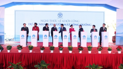 VOI breaks ground in Hanoi water project