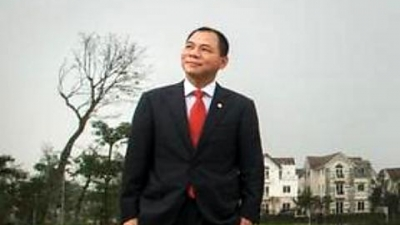 Vietnamese entry on Forbes 2015 billionaire list