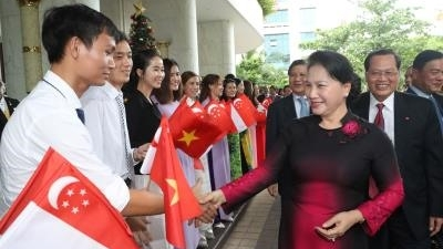NA Chairwoman hails Singaporean firms' cooperation initiatives
