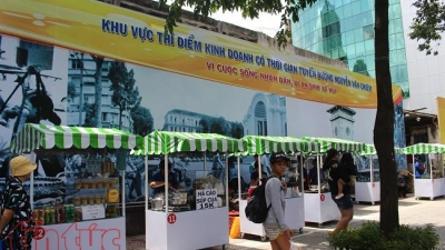HCMC launches first vendor street