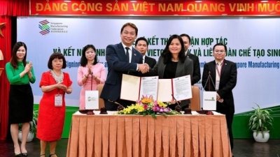 Vietcombank to cooperate with Singapore Manufacturing Federation