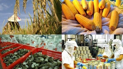 8M agriculture trade in surplus by $4.5bn