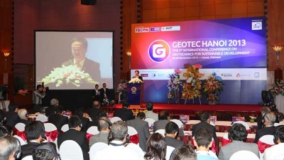 GEOTEC conference for Hanoi