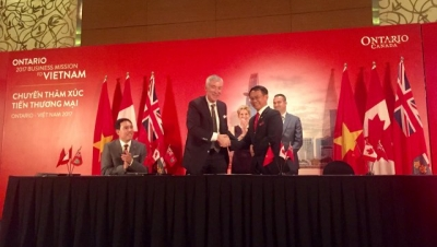Vietnamese & Ontario businesses sign $25mn in deals
