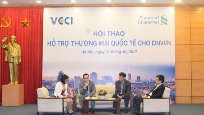 Standard Chartered & VCCI support SMEs in international trade