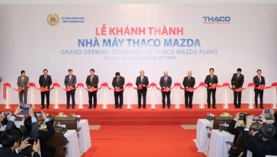 Thaco opens Quang Nam auto plant