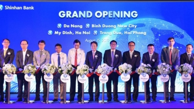Shinhan Bank opens 4 new branches