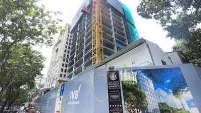 Topping-out ceremony held for Friendship Tower