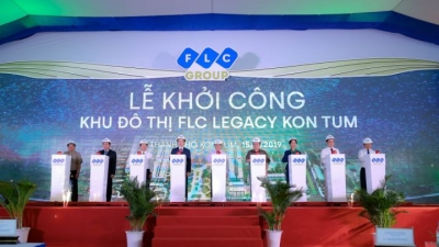 FLC Group kicks off FLC Legacy Kon Tum urban area
