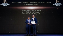 Malibu Hoi An a double winner at Dot Property...