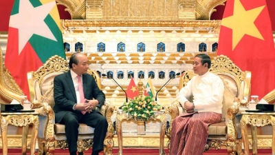 PM visits Myanmar