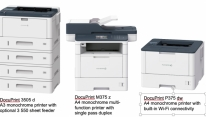 Fuji Xerox introduces new monochrome printer...