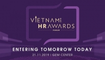 Vietnam HR Awards Forum 2019 on horizon