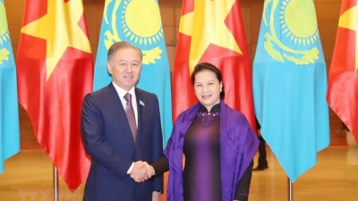 Kazakhstani Parliament's Lower House Chairman paying official visit