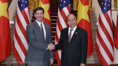 PM receives US Secretary of Defense