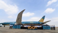Vietnam Airlines' fleet hits 100