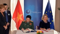 Vietnam & EU step up security and defense...