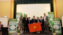 Vietnamese team champions at SAGE World Cup