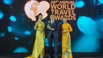 Vietnam wins four awards at World Travel Awards...
