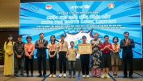 Nha Trang boy wins UNICEF Vietnam contest to...