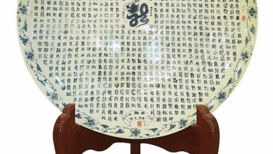 Chu Dau pottery plate secures Guinness World Record