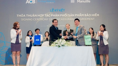 Manulife Vietnam strikes bancassurance deal with ACB