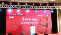 VietnamWood & Furnitec 2019 underway in HCMC