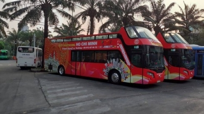 HCMC to open Hop on - Hop off bus routes