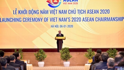 Commencement ceremony for ASEAN Chairmanship 2020 held