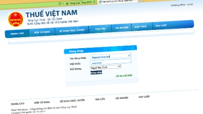 Vietnam pushes e-tax services