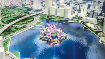 Floating theatre planned for Hanoi