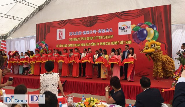 Sea Horse opens new Hai Phong factory