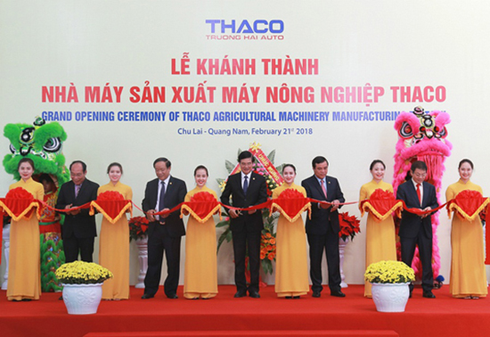 THACO opens $22mn agricultural machinery factory