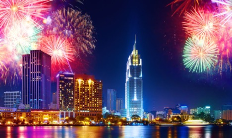 HCMC most popular local destination for New Year's Eve travel